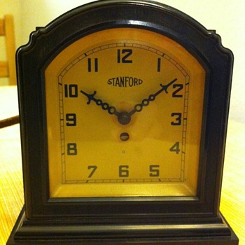 Stanford clock - Art Deco