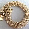 Vintage Link & beads Bracelet