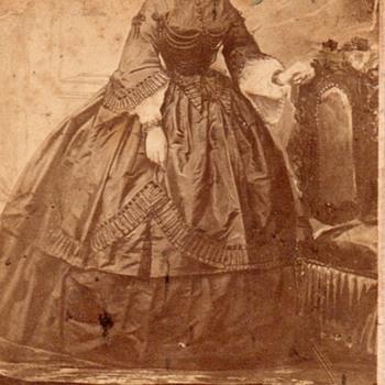 Mary Goddard Sprague 1855  - Photographs