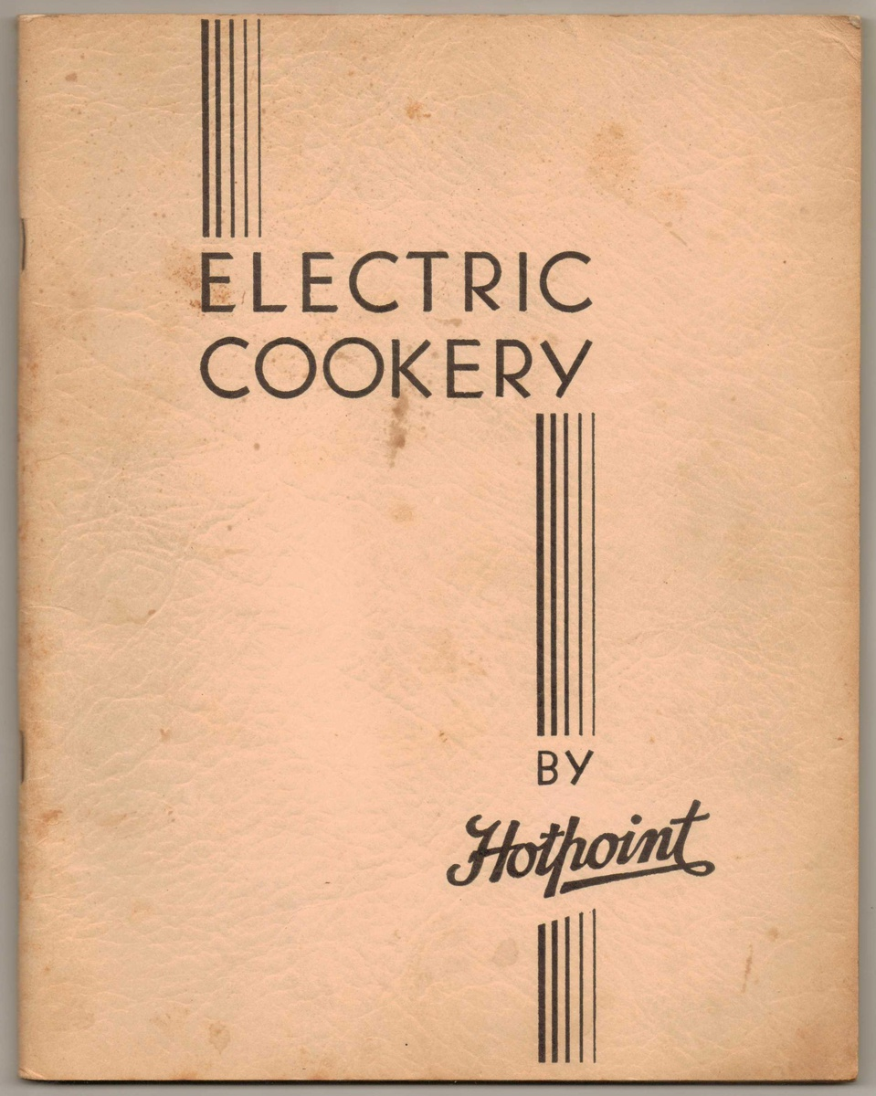 1930 s ge hotpoint oven stove manual collectors weekly rh collectorsweekly com hotpoint electric stove manual 2013 hotpoint electric stove owner's manual