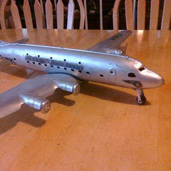 Pan Am Marx Airliner from the 50's - Toys