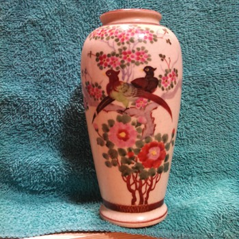 Old vase bought in India During WWII - Asian