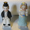 Before and After Marriage Salt and Pepper Shakers
