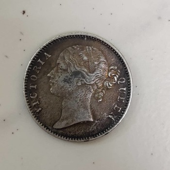 One rupee 1840 coin - World Coins