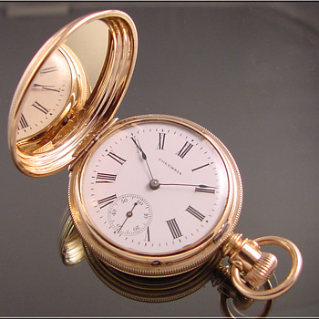 Lancaster Hunt Case Pocket Watch - Pocket Watches
