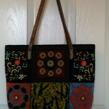 Vintage Glass Beaded Fendi Bag