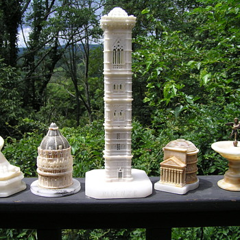 Antique Grand Tour Marble and Alabaster items