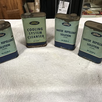 Ford motor company service cans  - Classic Cars