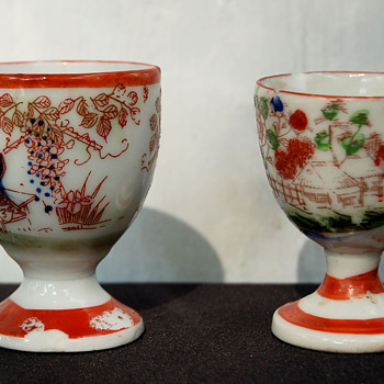 Two Cina Egg Cups - China and Dinnerware