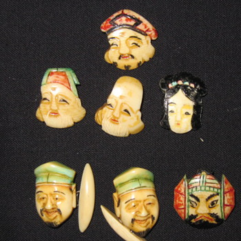 Chinese Folklore Buttons - Sewing