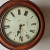 1860 english single fusee clocl