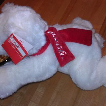 """14"""" Coca Cola Bear"""