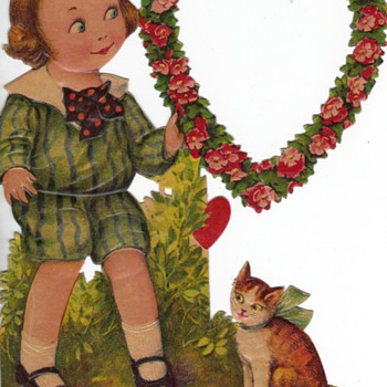ANTIQUE VALENTINES - Cards