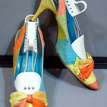Bright Neon Colored Shoes from the 60's - Shoes