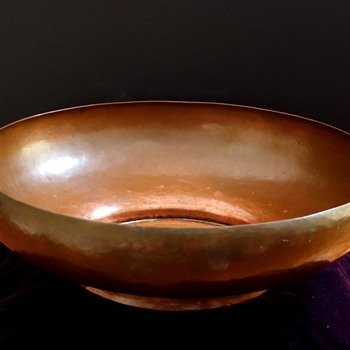 Karl F Lienonen ..Copper Bowl - Arts and Crafts