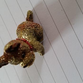 Metal dog by steiff