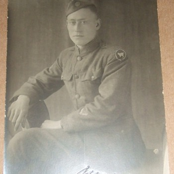 """81st """"Wildcat"""" Division Soldier RPPC  - Military and Wartime"""