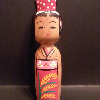 Japanese Matagoro Kokeshi doll - Dolls