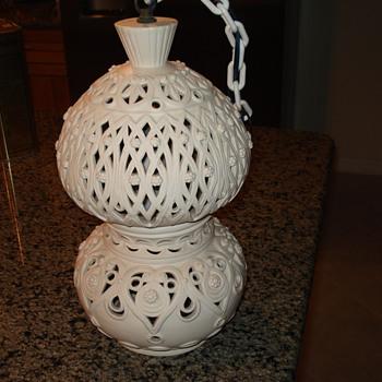 Italian Hanging Pendant Light - Lamps