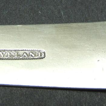 Benjamin Norton Cleveland Coin Silver Spoon - Silver