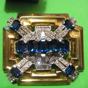 Signed McClelland Barclay Brooch - Fine Jewelry