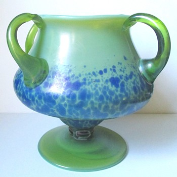 Rare Loetz Orchis - Art Glass