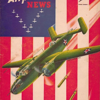 "1942 - ""Model Airplane News"" Magazine (August) - Paper"