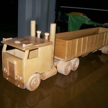 Wooden Kenworth