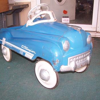 1952 Murray Champion Jet Flow 610 peddle car - Model Cars