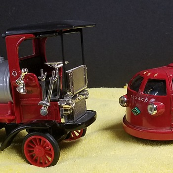 ERTL Texaco Coin Banks  - Coin Operated