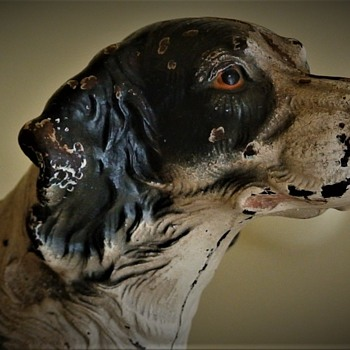 Cast Iron Hubley English Setter Doorstop - Animals