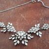 1930s rhinestone/paste necklace