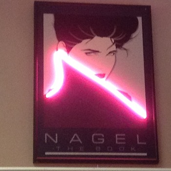 Neon Nagel - Posters and Prints