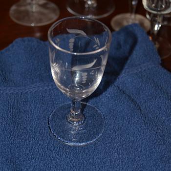 Help identifying glass patterns - #7 - Glassware