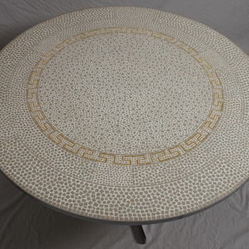 Berthold Muller-Oerlinghausen Mosaic table  - Furniture