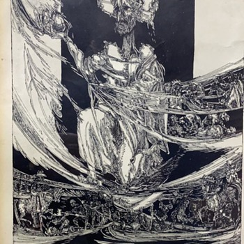 Unknown etching - Posters and Prints