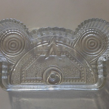 Looks like Depression glass but cannot figure out what it was for