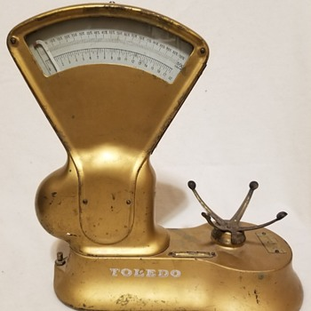 Toledo scale weighs percentage of 500 grams and up to 17 oz - Tools and Hardware