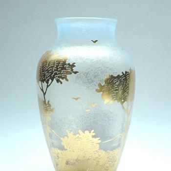 art nouveau opalescent glass by LOEZT & CARL GOLDBERG