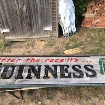 Guinness roof sign... - Breweriana