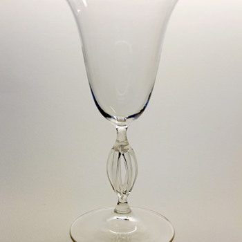 Knut Bergqvist goblet vase- Lindefors 1930. - Art Glass
