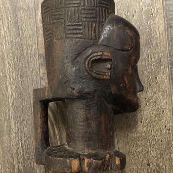 Dan Tribe Ivory Coast Ceremony Cup - Folk Art