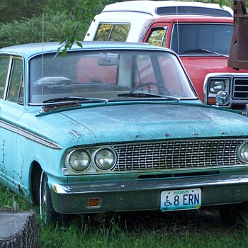 1963 FORD FAIRLANE BARN FRESH - Classic Cars