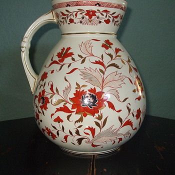 Minton jug found at a thrift shop