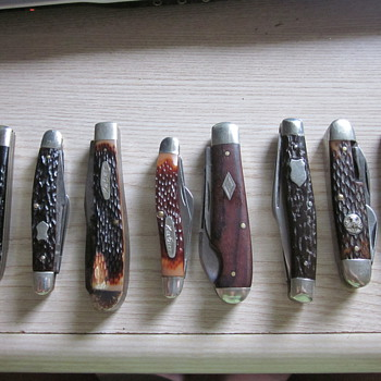 Vintage pocket knives - Tools and Hardware