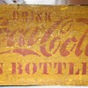 Ye Olde Coca Cola Hutchinson Style Crate 1890s - around 1905