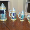 DBGM Set of Four German Beer Steins