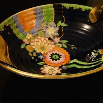 CROWN DEVON FIELDINGS BOWL - Pottery
