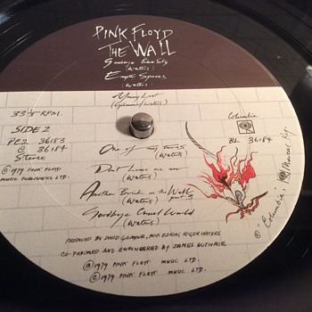 """Pink Floyd 1979 """"the wall"""""""