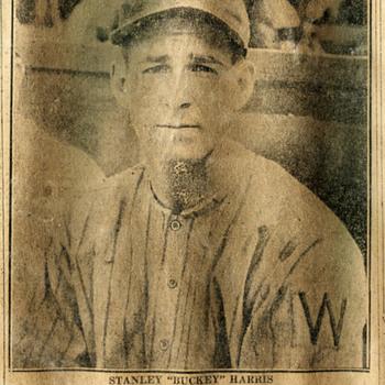 Bucky Harris…Vintage article, Scranton, PA - Baseball